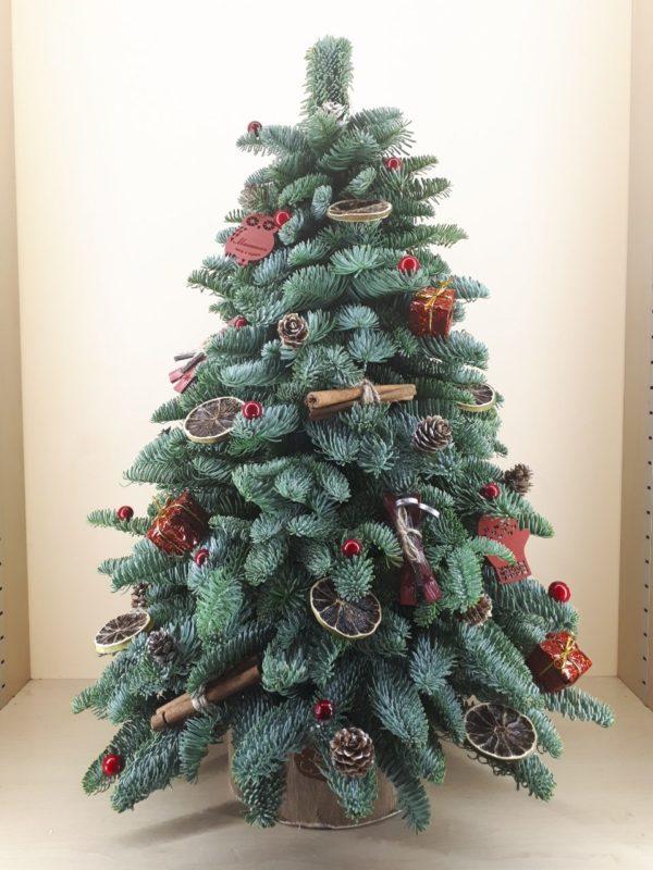 Новогодние букеты Новогодняя декоративная ель M399