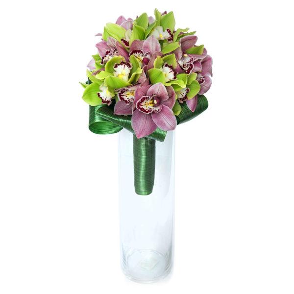 Свадебный букет из орхидеи