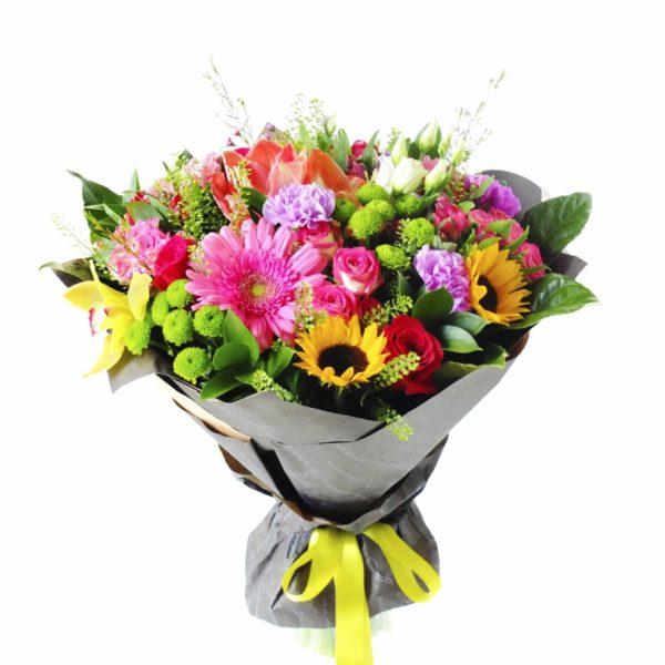 Большой букет цветов M040
