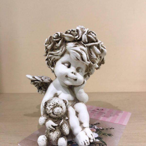 Сувенир «Ангелок с мишкой»