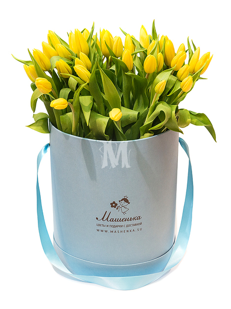 Букеты из тюльпанов M204