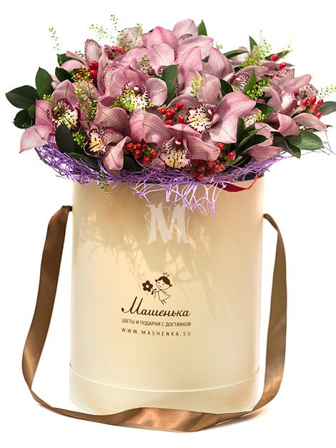 Цветы в коробках M206
