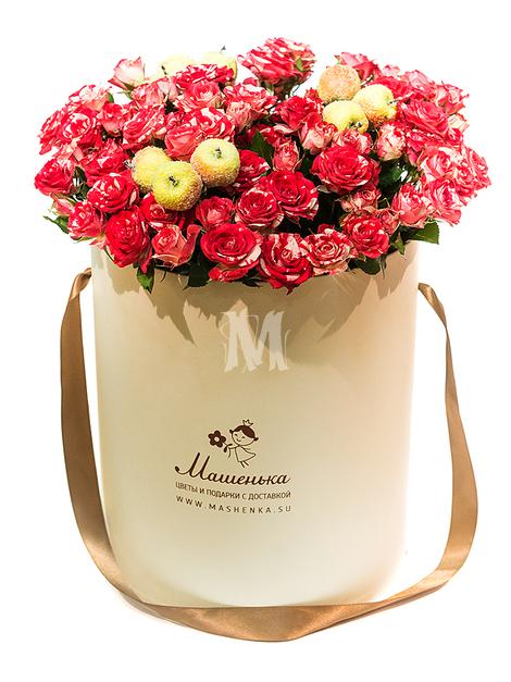 Цветы в коробках M210